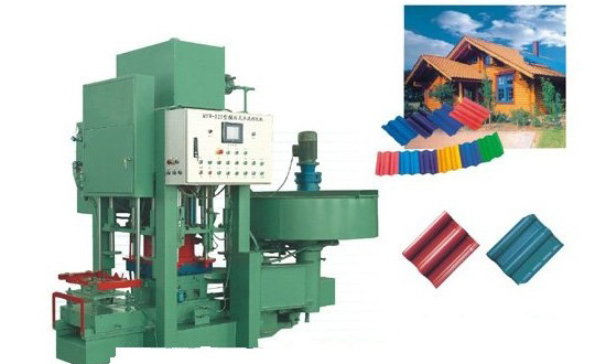 128 High pressure Filtration Cement Color Tile Machine